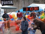 """Mere seconds after crossing the finish at 3:10'36"""" photo by my Dad"""